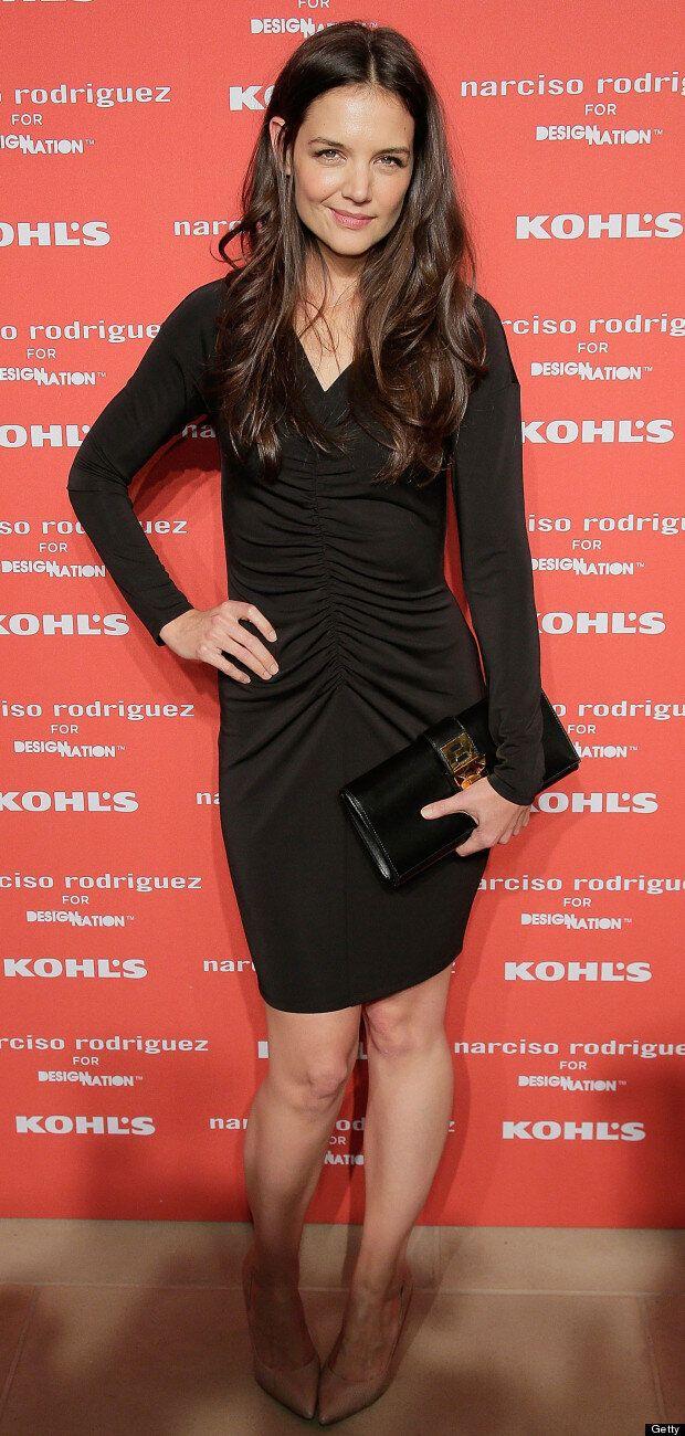 Best Post-Breakup Look Yet? Katie Holmes Stuns In LBD