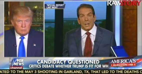 Donald Trump Calls Journalist Charles Krauthammer In A Wheelchair A 'Jerk' Who 'Just Sits