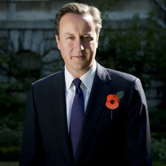 David Cameron's Staff Accused Of 'Photoshopping' Poppy On To Picture Of PM Week Before Remembrance