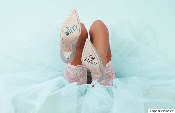 Sophia Webster Bridal Shoes Are The Cutest Thing You Can Wear To A