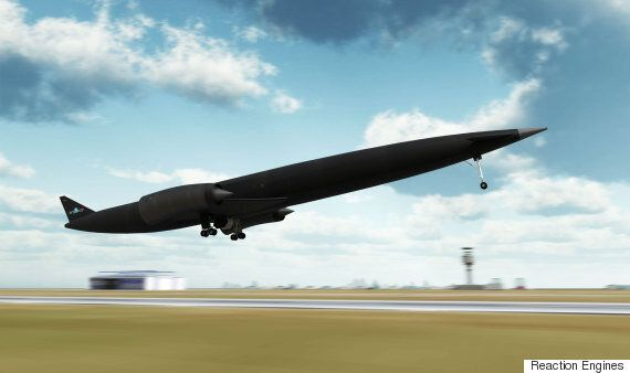 UK Invests In Skylon 'Space Plane' That Could Fly From London To Sydney In 4