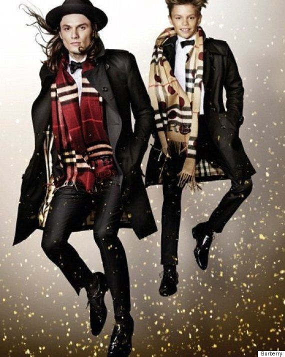 Burberry Christmas Advert 2015: Romeo Beckham Joins James Corden, Julie Walters And Naomi Campbell In...
