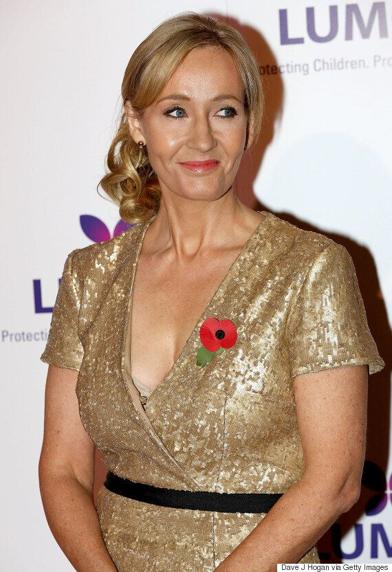'Harry Potter' Author J.K. Rowling Reveals She's Writing A Children's