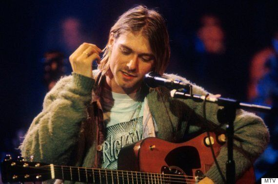 Kurt Cobain's Cardigan From Nirvana MTV Unplugged In New York Is Up For