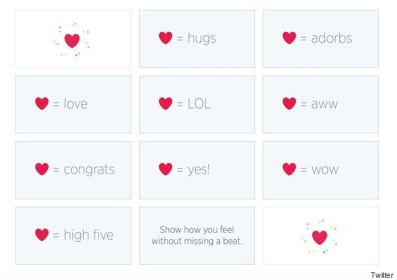 Twitter Replaces The 'Favourite' Button With A New Heart-Shaped
