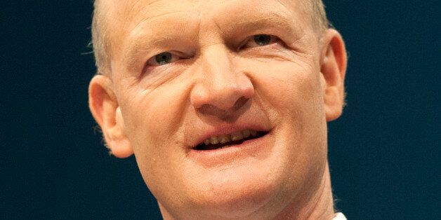 David Willetts, Minister of State for Universities and Science, speaks to delegates during the Conservative...
