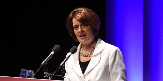 Public Health Minister Jane Ellison speaks during the Public Health England annual conference at the...
