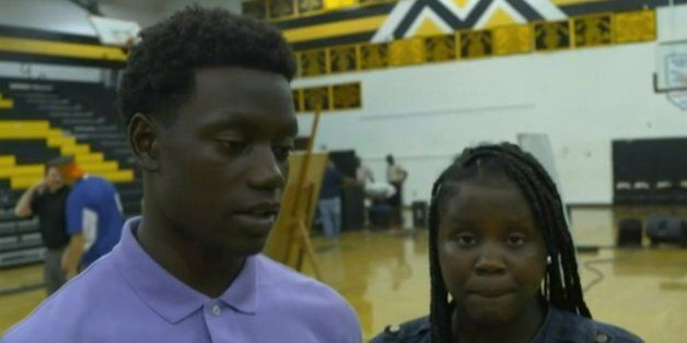 Chris and Camryn Singleton's mother Sharonda was killed in the attack on a church in