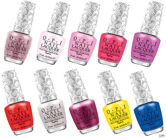 OPI Hello Kitty Collection 2016: See All The Shades