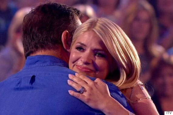 Holly Willoughby Cries As Her Dad Makes Shock Appearance On 'Surprise Surprise' Father's Day Special