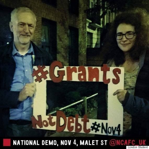#GrantsNotDebts: Shadow Chancellor John McDonnell Rouses Student Protesters At London