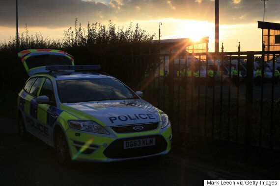 Man Poos In Police Car After