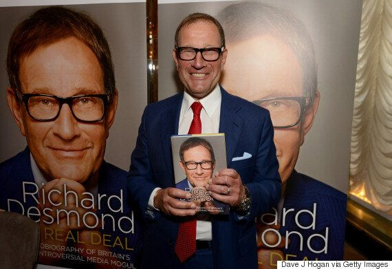 Richard Desmond's Autobiography Gets Five Stars In The Daily Express - His Own