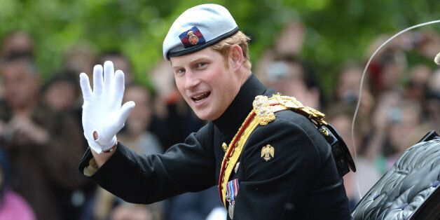 Prince Harry at Trooping the Colour, The Mall,