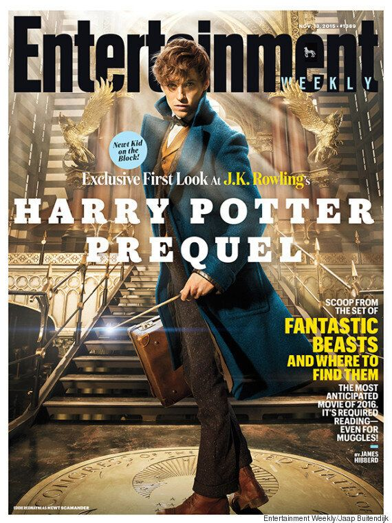 'Fantastic Beasts And Where To Find Them': Eddie Redmayne Features As Newt Scamander On Entertainment...