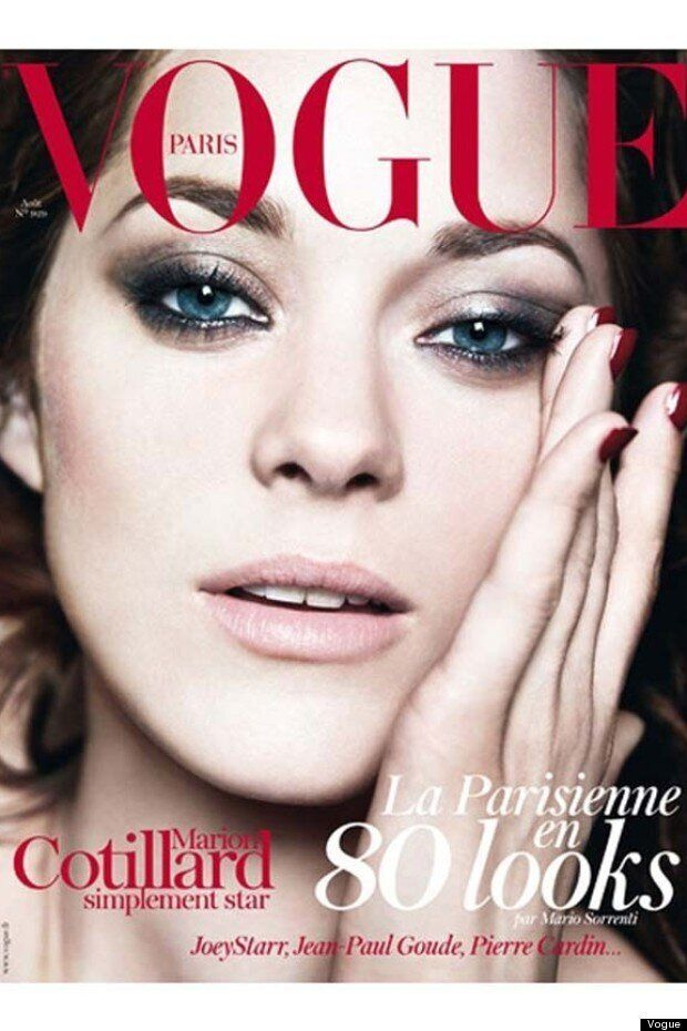Marion Cotillard Covers Vogue Paris With The Ultimate Smoky