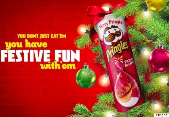 Christmas Pigs.Pringles Pigs In Blankets Flavour Crisps Are All You Need