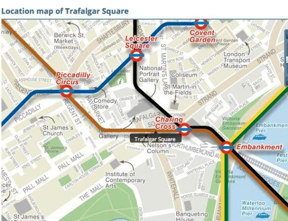 Million Mask March 2015 London Route Map: How To Avoid Tonight's Protest On Your Evening