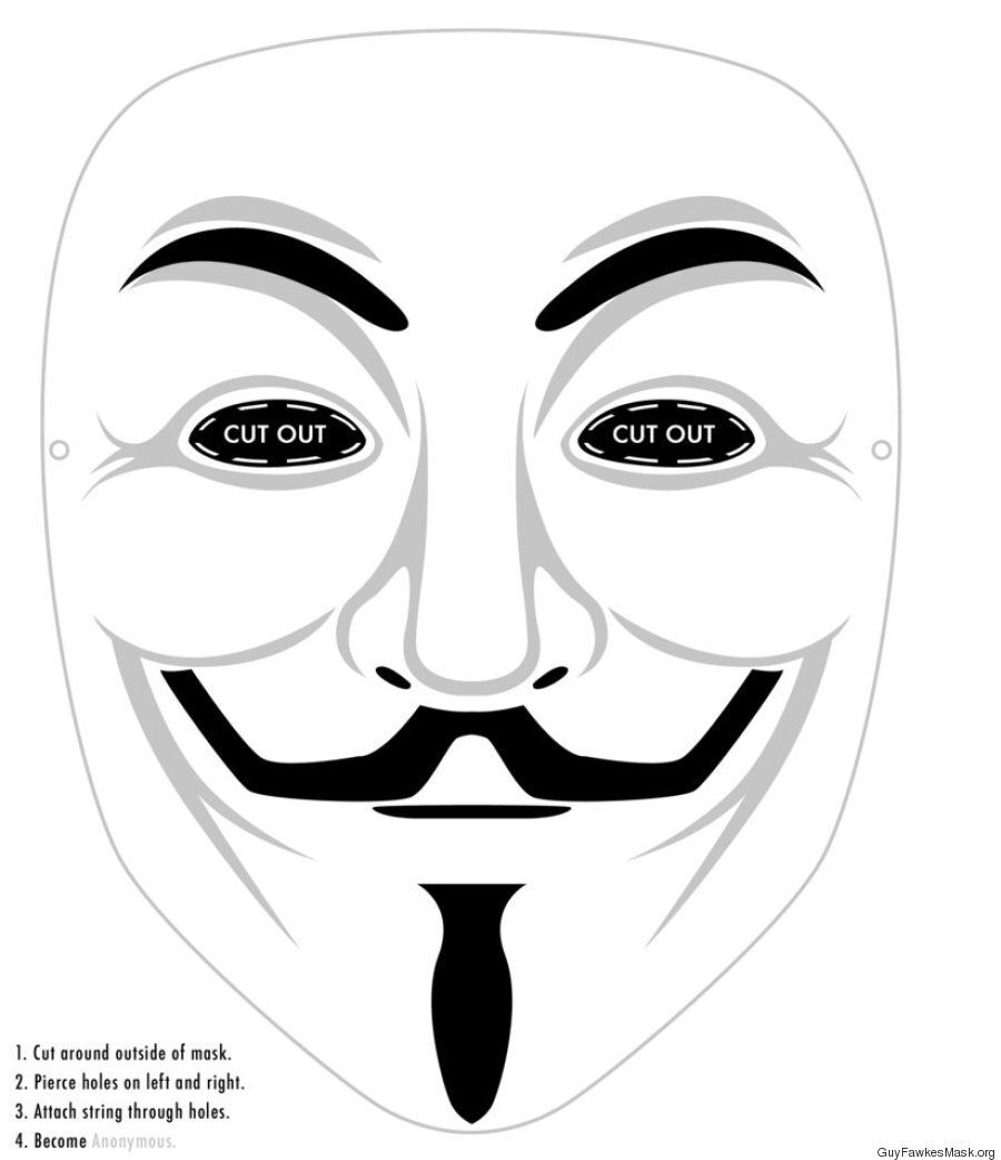 Guy Fawkes Mask: DIY Steps On How To Make One At