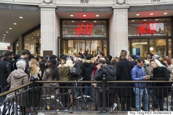 Balmain H&M Launch Causes Utter Chaos Around The