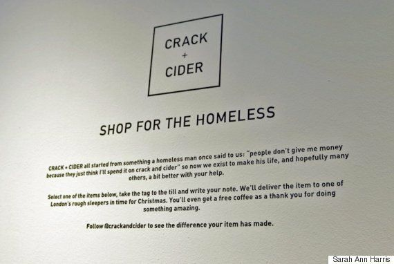 Homeless People In London Helped By 'Crack And Cider' - But It's Not What You Think It