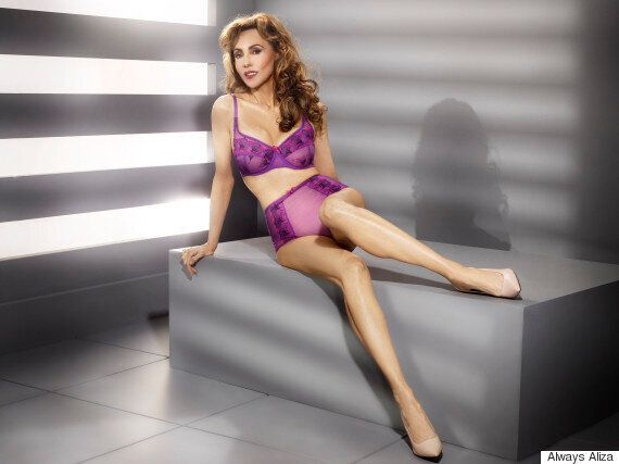 Supermodel Marie Helvin Models New JD Williams Over Fifties Lingerie Range And Looks