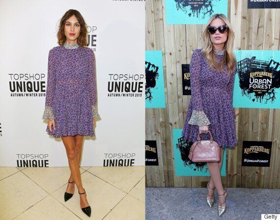 Alexa Chung's Topshop Dress Is Back In Stock This Week After Selling Out In 3