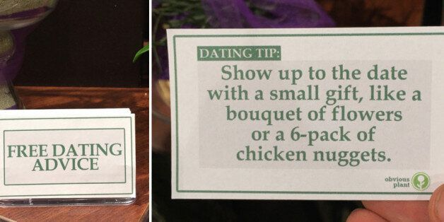 Obvious Plant Leaves Hilarious Fake Dating Tips In