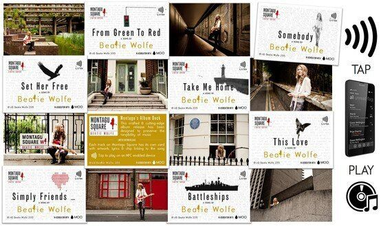 Beatie Wolfe's Tap and Play Album Launch and Musically Generated Digital