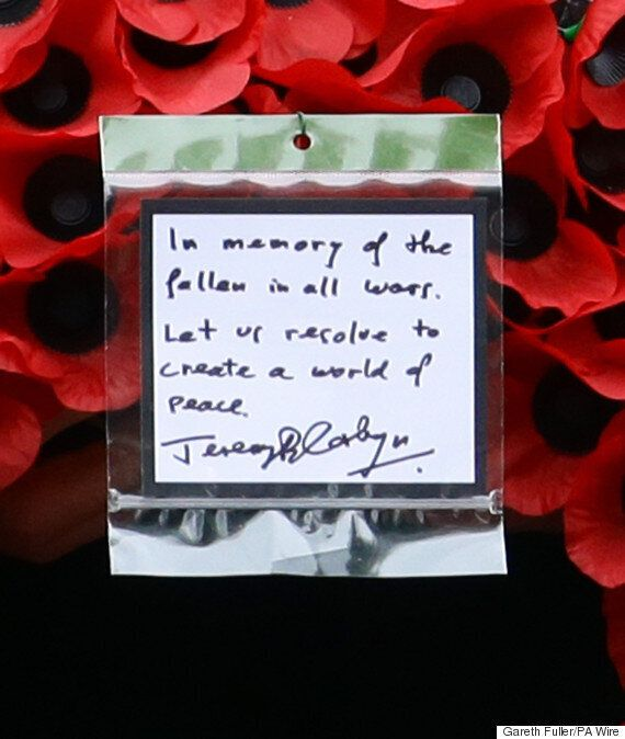 Jeremy Corbyn DID Bow At The Cenotaph During Remembrance Sunday