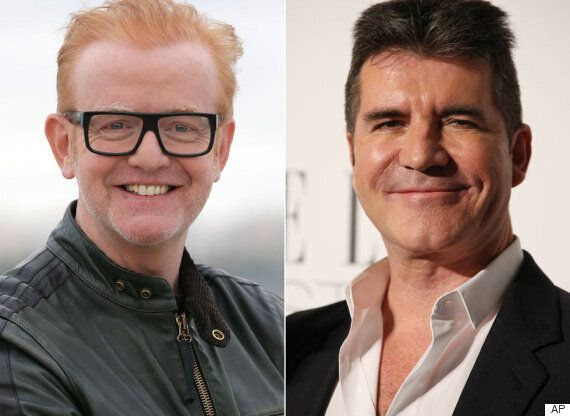 Chris Evans Brands Simon Cowell 'Weird And Nervous' On 'The X Factor' (But He Still Loves