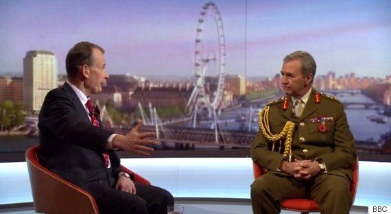Andrew Marr Manoeuvred General Into Criticising Corbyn, Says Ex-Royal Navy