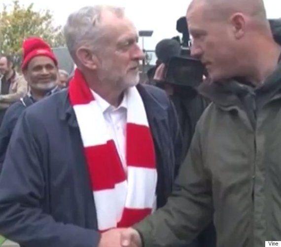 Jeremy Corbyn Told By Spurs Fan That He 'Definitely' Has To Be Prime