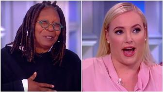 Whoopi Goldberg/ Meghan McCain