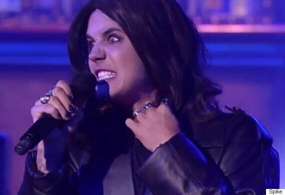 Justin Bieber Gets Ozzy Osbourne Makeover For 'Crazy Train' Performance On 'Lip Sync Battle'