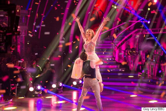 'Strictly Come Dancing' 2015: Carol Kirkwood Reveals She's Lost A Stone, Thanks To BBC Ballroom