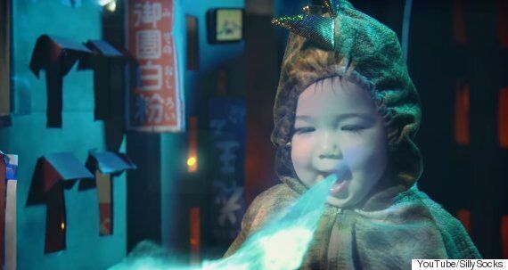 Dad Uses CGI To Turn His Daughter Into The Cutest Fire-Breathing Godzilla We've Ever