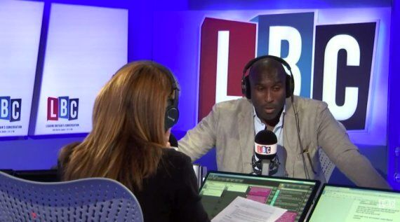 Sol Campbell LBC Interview Reveals He Rarely Takes The Tube And Doesn't Own An Oyster