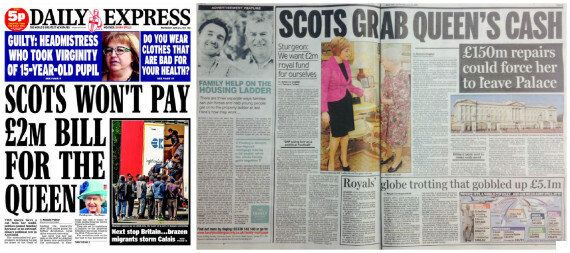 Queen's Crown Estate Funding Scrapped By SNP Claim Sparks Row With 'Bogus' London Media And