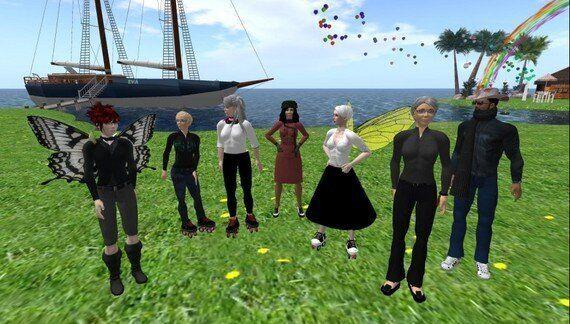 EVA Park: a Virtual World to Help With Speech