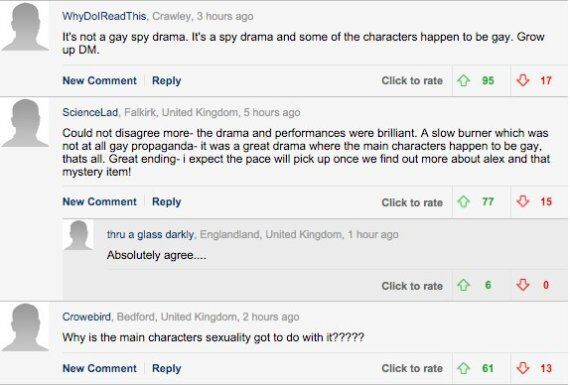 Daily Mail TV Review Of 'London Spy' Laments The Number Of BBC 'Gay Dramas', Sparks Reader
