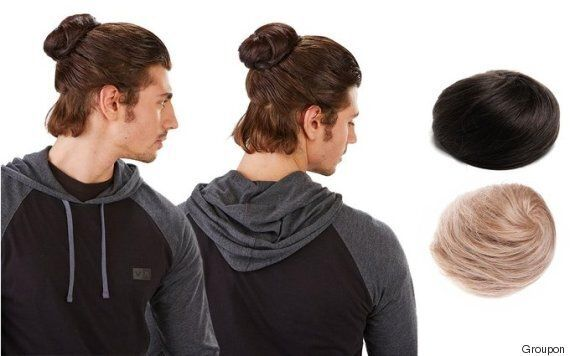 Clip-On Man Buns Are The Solution For Men Who Fear Their Hairstyle May Make Them