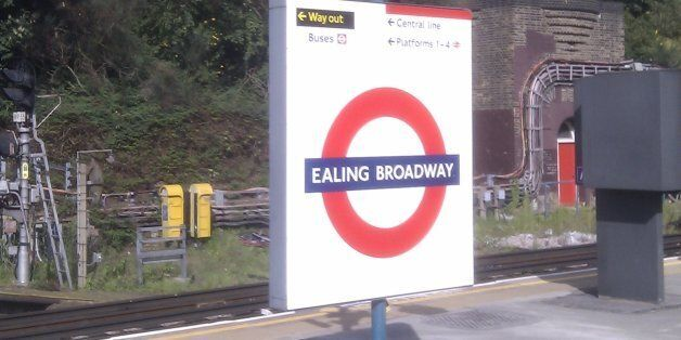 The deaths occurred at Ealing Broadway station on