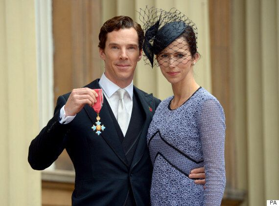 Benedict Cumberbatch Defends His 'Hamlet' Speeches For Refugees While Collecting CBE At Buckingham