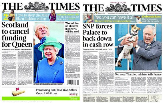 Buckingham Palace U-turns Over SNP's Royal Funding Feud Saying The Claims Were 'Simply