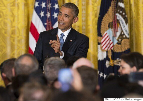Barack Obama Heckler Video Captures Moment President Tells Woman He Won't Be Interrupted 'In My