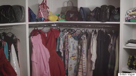 Lily Allen Talks Fashion As She Shares Her Wardrobe With British