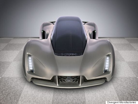 This 3D Printed 'Batmobile' Does 0-60 In Two