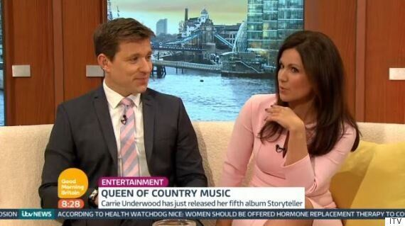 Susanna Reid And Ben Shephard Insist They're Not A Married Couple In Awkward 'Good Morning Britain' Moment