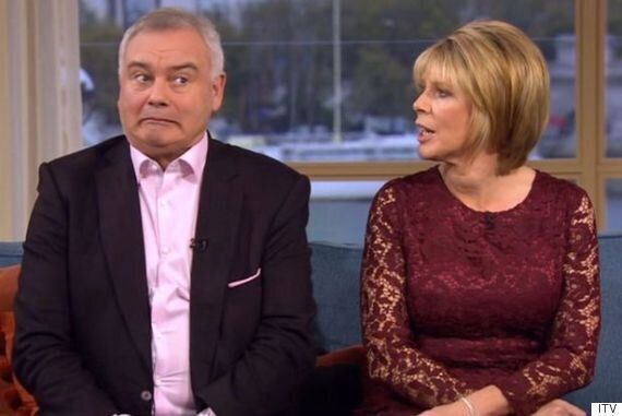 'This Morning': Ruth Langsford Appears To Call Husband Eamonn Holmes A 'C***' Live On Air